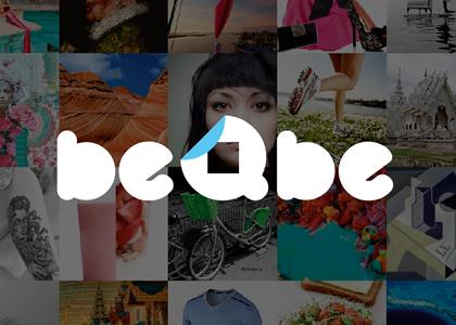 Diseño web red social Beqbe