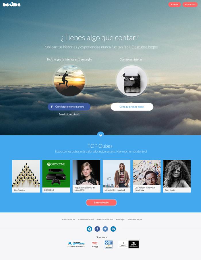 Diseño web Beqbe