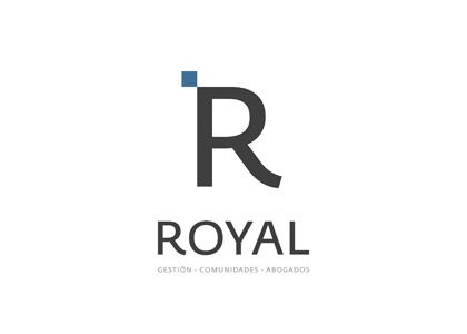 Diseño de logotipo Royal Gestión