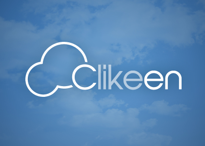 Diseño web landing page Clikeen