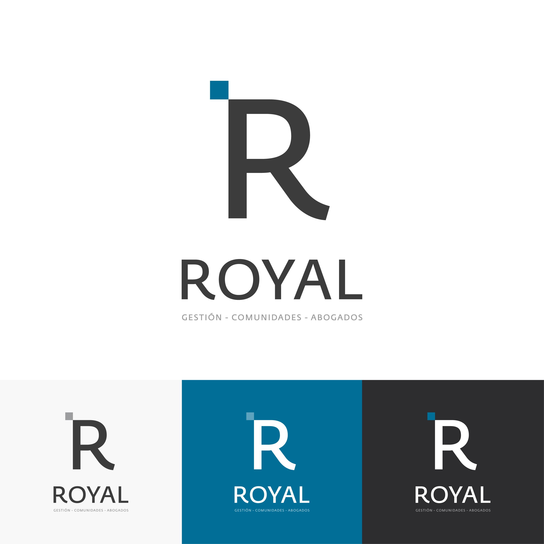 Diseño logotipo Royal Gestión