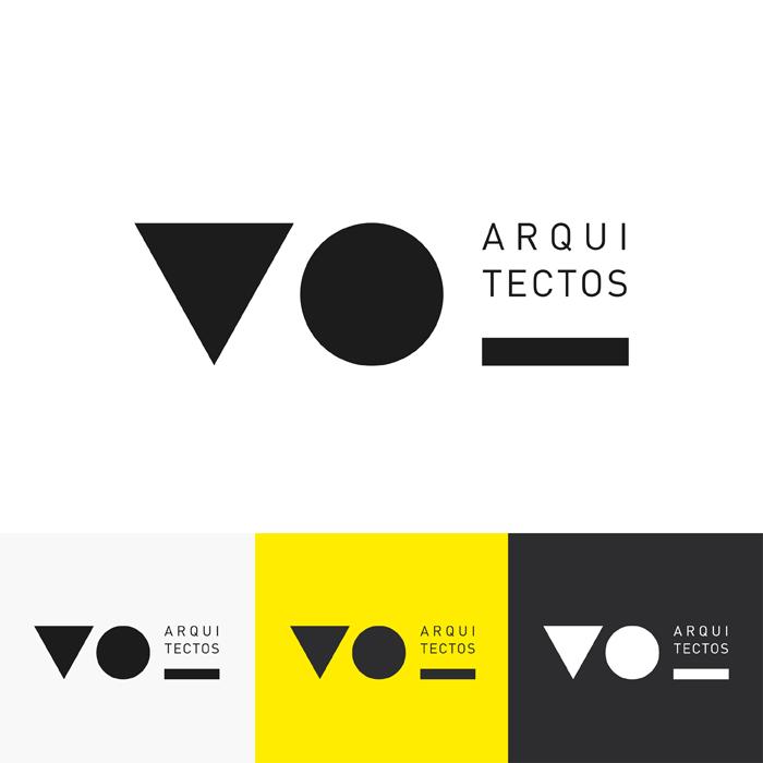 Diseño del logotipo de VO Arquitectos