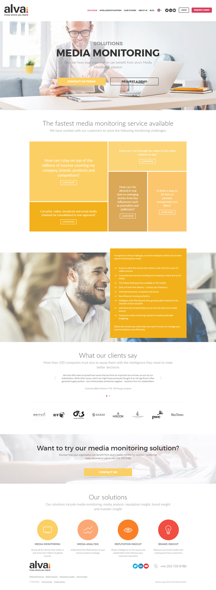 Diseño web Cern